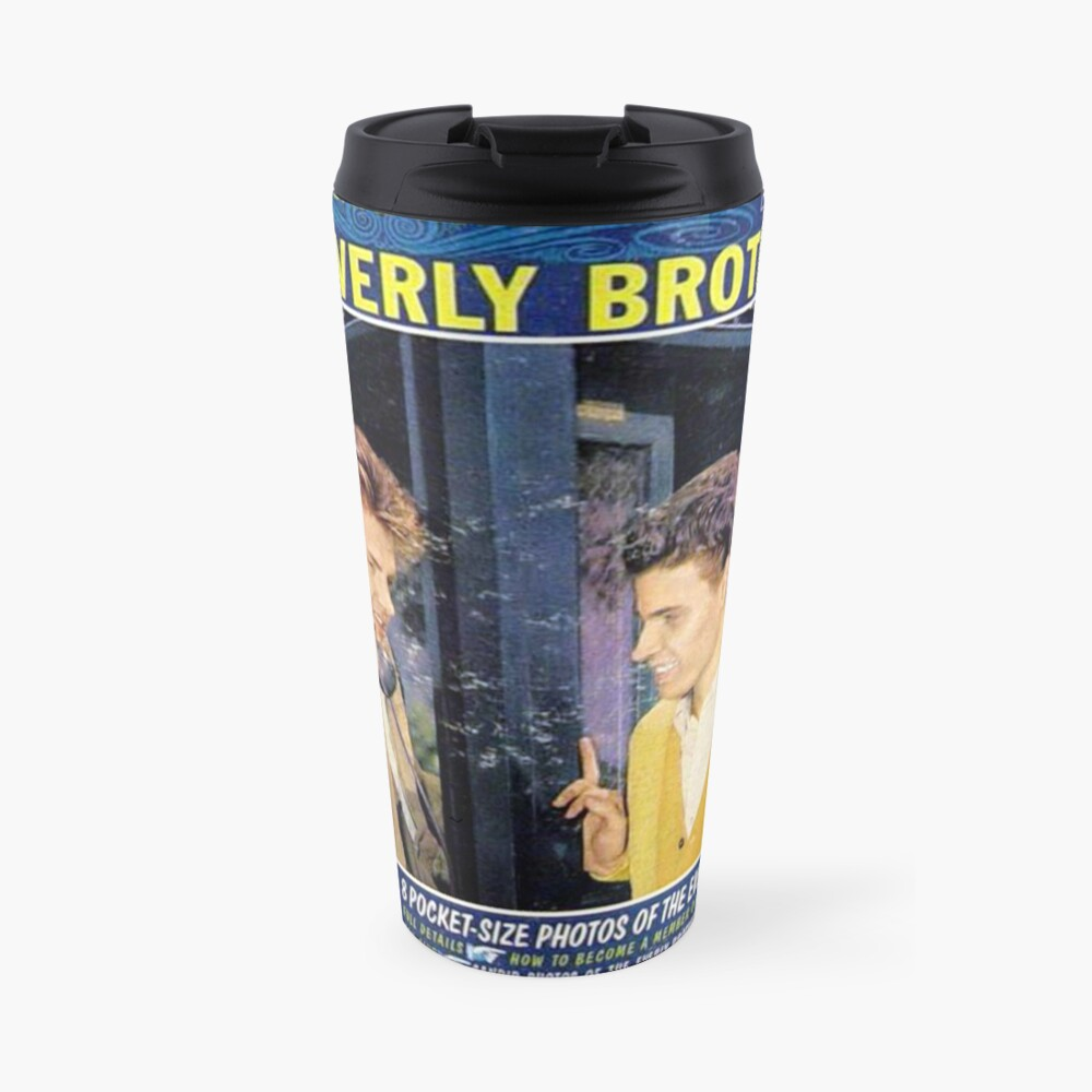 Everly Brothers, A Date With The Everly Brothers, Rockabilly Travel Mug