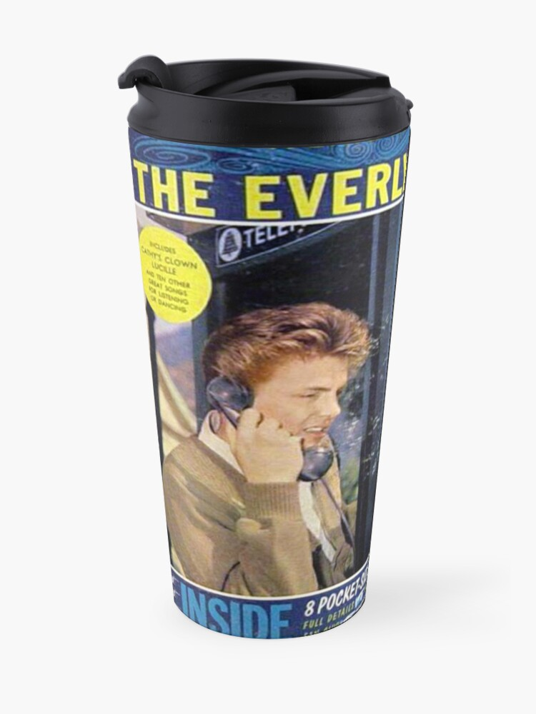 Alternate view of Everly Brothers, A Date With The Everly Brothers, Rockabilly Travel Mug