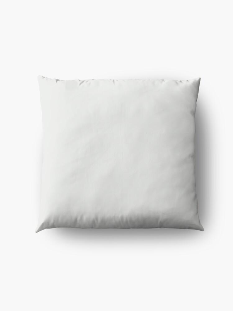 Alternate view of PANTONE 11-4800 TCX Blanc de Blanc Floor Pillow