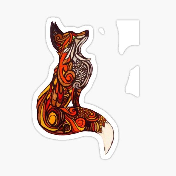 Vixen Sticker