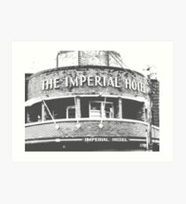 Imperial Notes Art Print