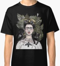 Frida Kahlo self portrait version Classic T-Shirt