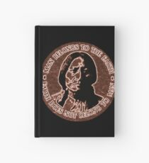 COPPER CHIEF SITTING BULL  #standwithstandingrock Hardcover Journal