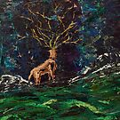 Death of the Gods II by Sara Larner