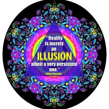 Einstein Reality Quote by Kitschipie