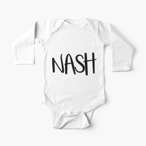NASH Long Sleeve Baby One-Piece