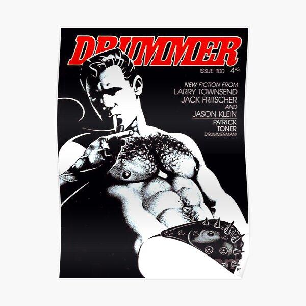 Drummer Magazine Poster