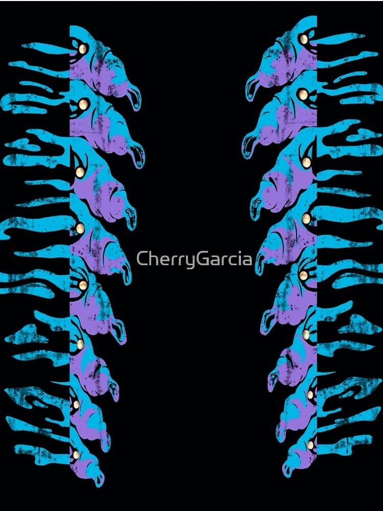 Caterpillar Leggings by CherryGarcia