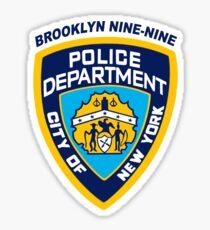 Pegatina Insignia NYPD de Brooklyn Nine-Nine