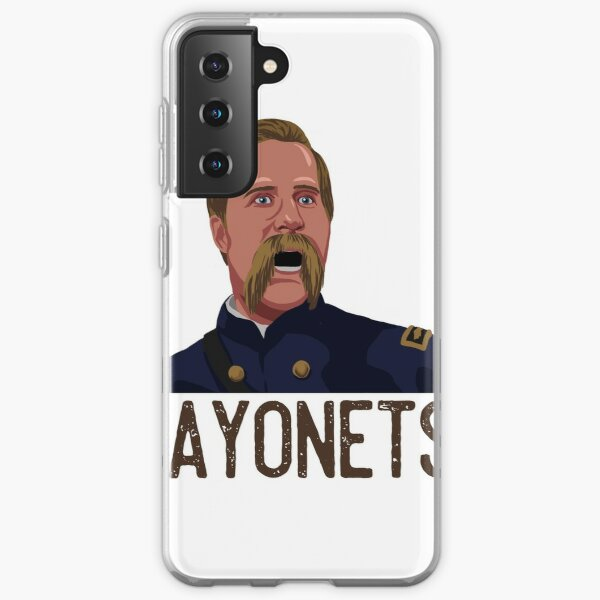 BAYONETS! Joshua Chamberlain Gettysburg Samsung Galaxy Soft Case