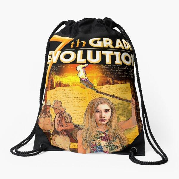 7th Grade Revolution - Draw String Bag Drawstring Bag
