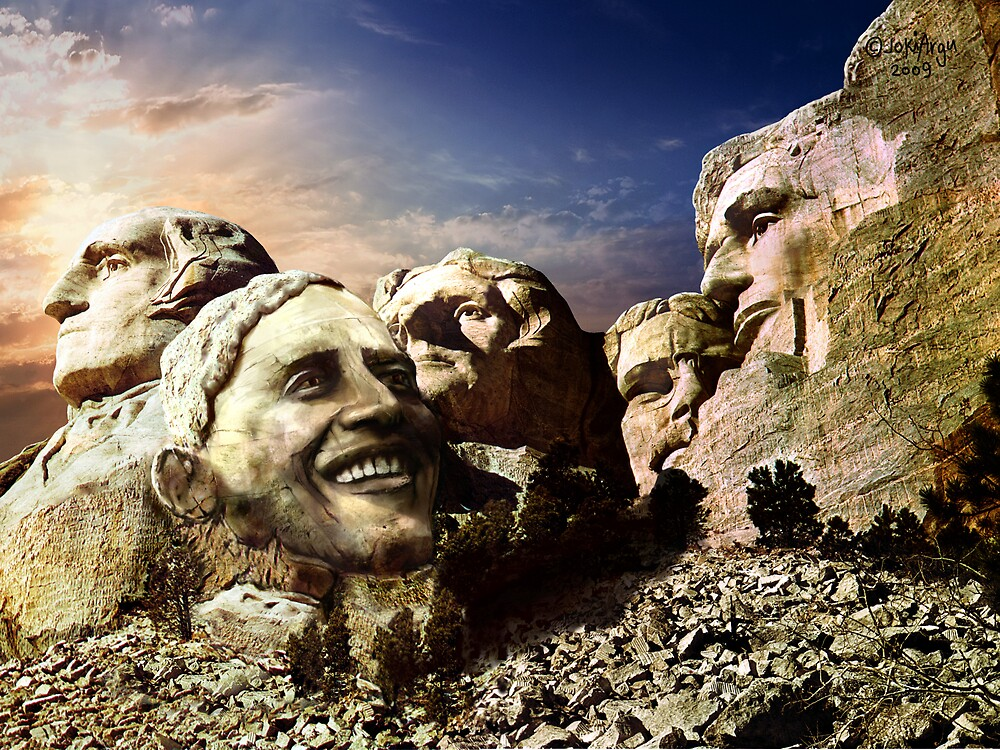 """""""Rushmore revisited""""....edited by Navybrat by atomikboy"""