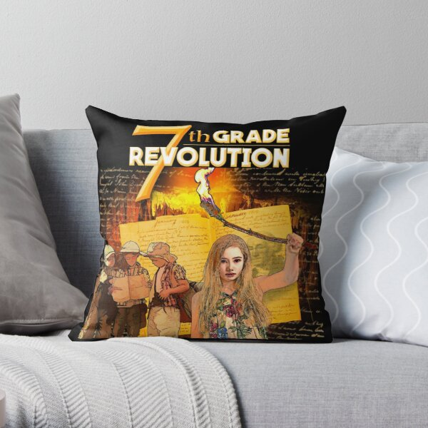 7th Grade Revolution - Tote Bags Throw Pillow
