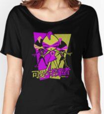 Punk Mascot Stencil Women's Relaxed Fit T-Shirt