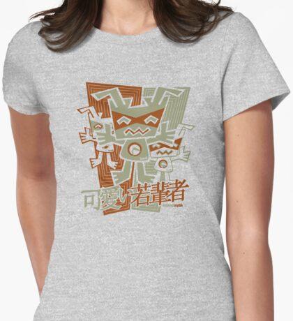 Robot Mascot Stencil T-Shirt
