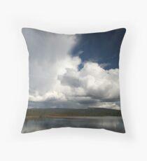 Towering cumulonimbus Throw Pillow