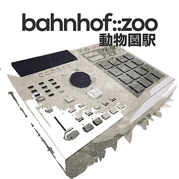 bahnhof::zoo - MPC Vintage tee by nidalirecords