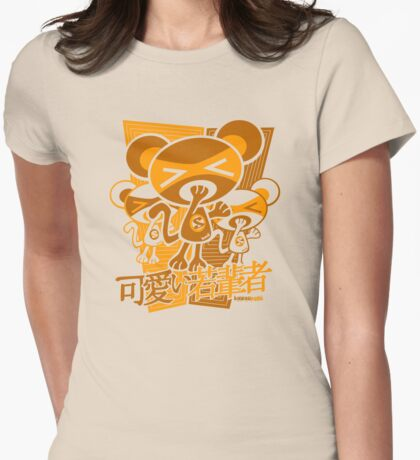 Sleepy Mascot Stencil T-Shirt
