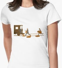 Train Women's Fitted T-Shirt