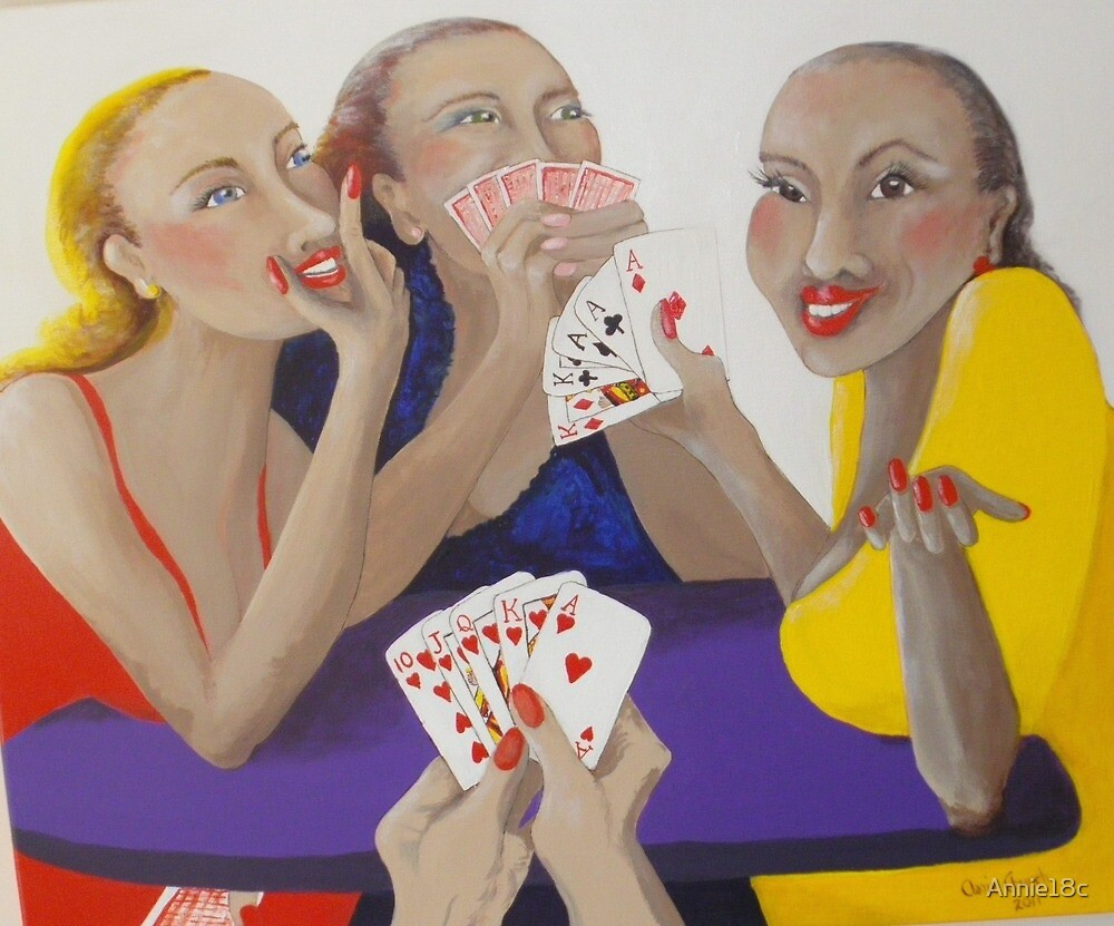 Card Players by Annie18c