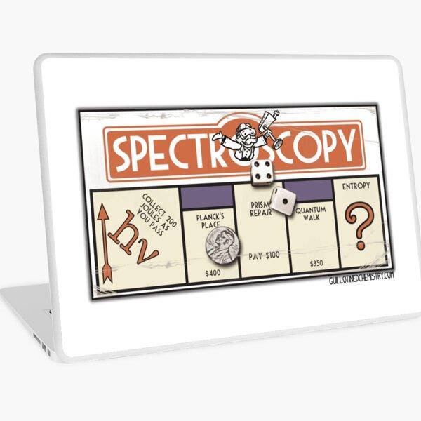 Spectroscopy Board Game Parody Laptop Skin