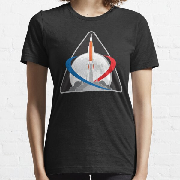 Orion Exploration Mission One Patch NASA Apparel and Gifts Essential T-Shirt
