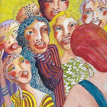 Ladies Choir by Annie18c