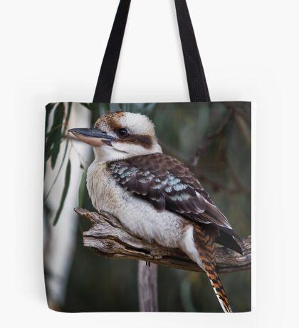 kookaburra sits in the old gum tree Tote Bag