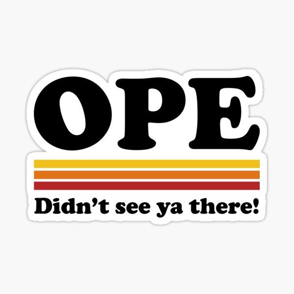 Muscle Ope Sticker