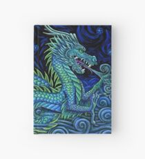 Chinese Azure Dragon Hardcover Journal