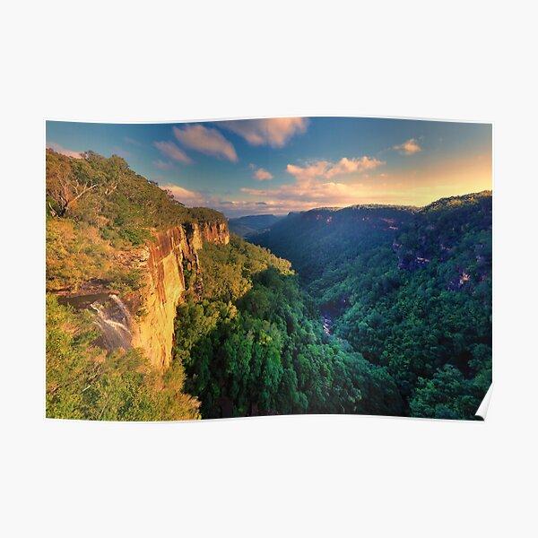 Falls Creek Sunset Poster