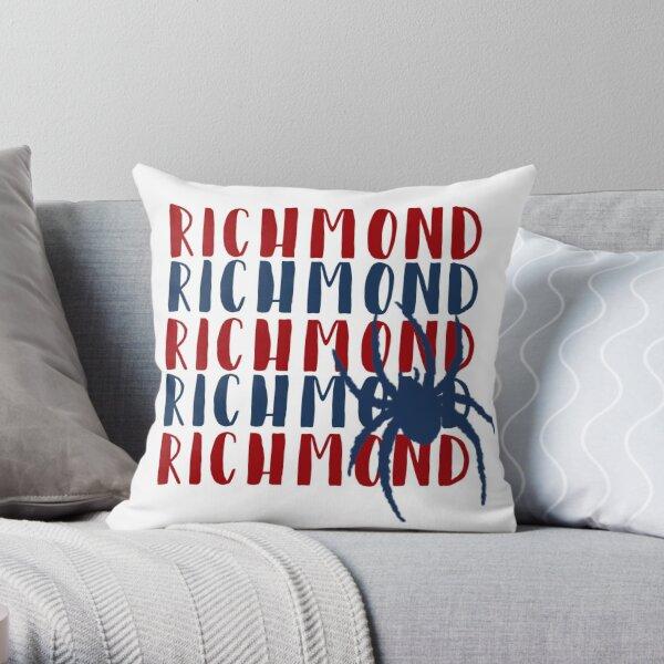 Richmond University Spiders Throw Pillow