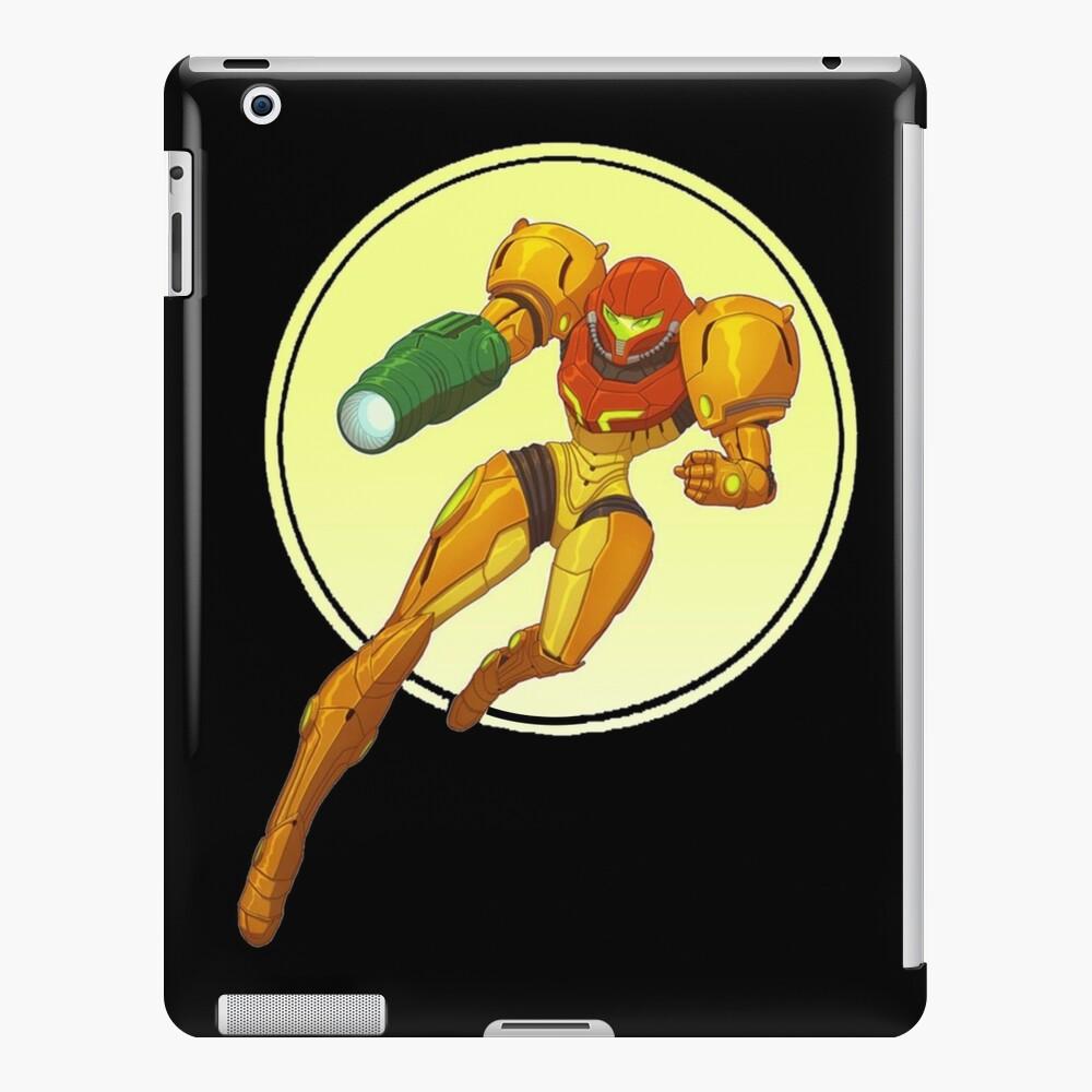 samus aran Funda y vinilo para iPad