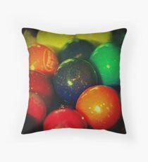 Ttv: Gumballs Throw Pillow