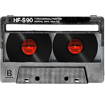 Cool Cassette Tape by againnagain