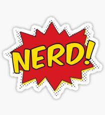 Super Nerd Sticker