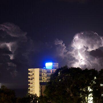 Mooloolaba Storm - 1 by Newsworthy