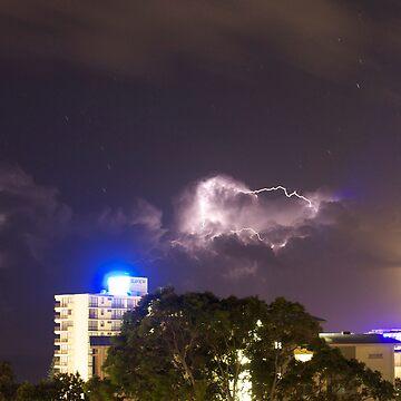 Mooloolaba Storm - 2 by Newsworthy