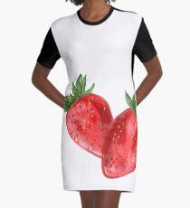 Berry Berries Graphic T-Shirt Dress