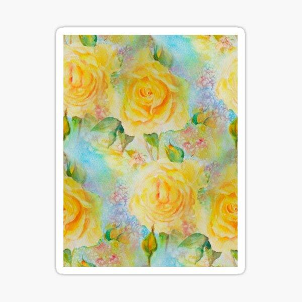 Happy roses Sticker