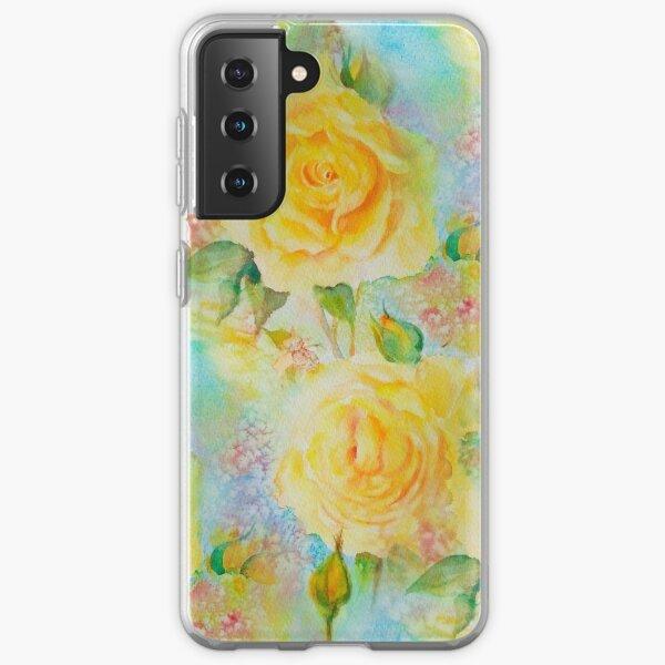 Happy roses Samsung Galaxy Soft Case
