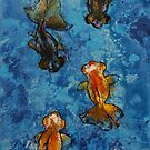 Butterfly Tail Goldfish by Michael Creese