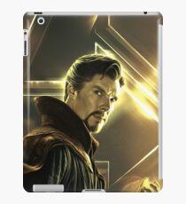 Benedict Cumberbatch / Doctor Strange - Celebrity Art (Golden Creation) iPad Case/Skin