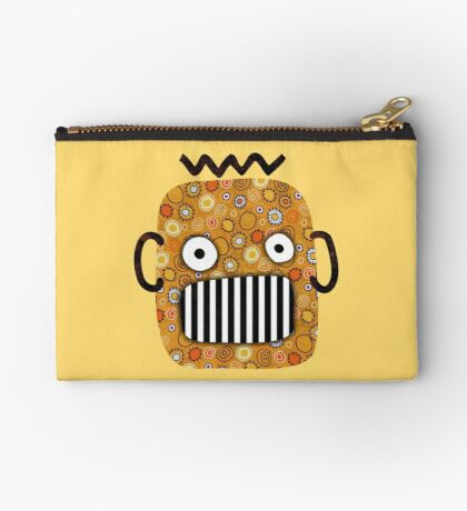 Creepy Pumpkin Zipper Pouch