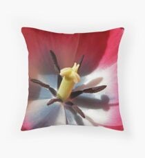 Straight To The Heart Throw Pillow
