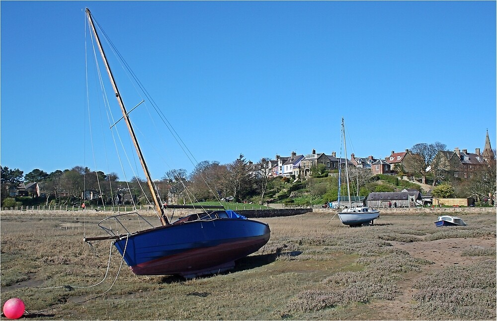 Run aground at Alnmouth by Funkylikeabee