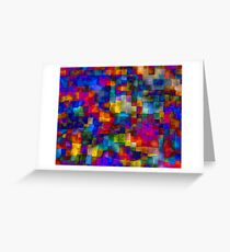 Cloudy Cubes Greeting Card