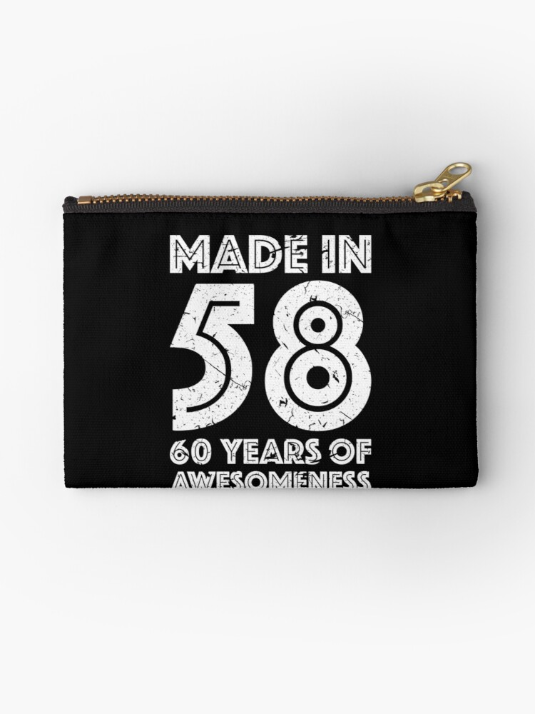 60th Birthday Gift Adult Age 60 Year Old Men Women