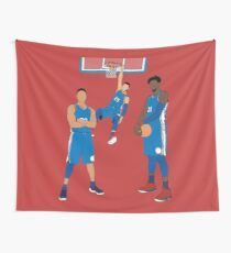 The Sixers' Big 3 Wall Tapestry