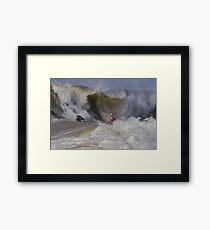 The Wedge- Newport Beach California Framed Print